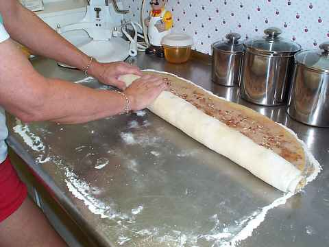 Finish rolling dough